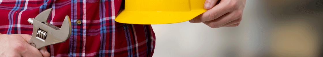 artisan rge casque jaune travaux