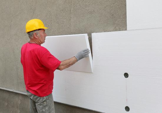 isolation extérieure murs travaux